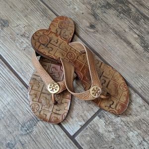 Tory Burch | Thora Leather Flip Flop Sandals